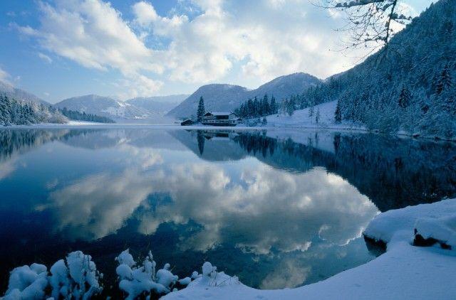 Pillersee im Winter - St. Ulrich am Pillersee Tirol