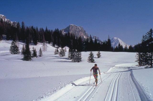 Bild: Langlaufvergnügen auf 3 Höhenlagen, sowie alle Schwierigkeitsgrade bieten die Langlaufloipen in und um Spital am Pyhrn. - Spital am Pyhrn Oberoesterreich