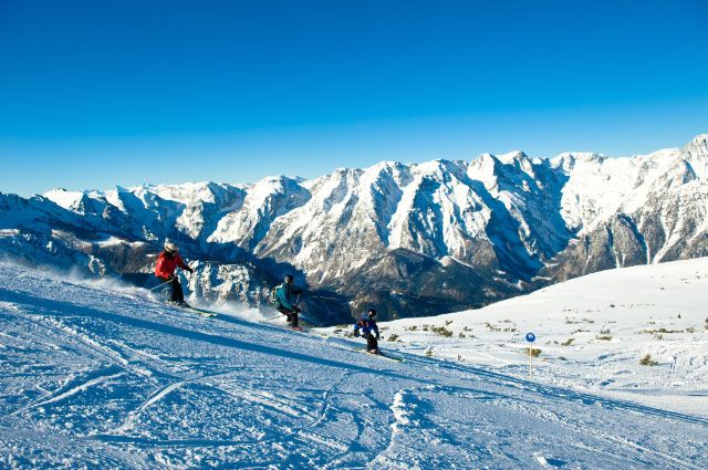 Bild: Die Höss im Weltcuport Hinterstoder ist ca. 20 Kilometer von Windischgarsten entfernt und lässt keine Wünsche für Skisportler offen. - Windischgarsten Oberoesterreich