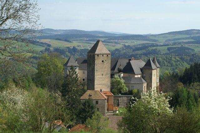 Stolz und mächtig erhebt sich unsere Burg über das Donautal. - Vichtenstein Upper Austria