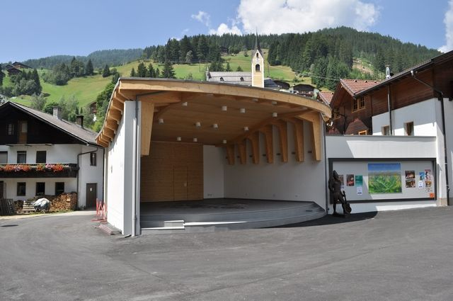 Neuer Musikpavillon - Außervillgraten Tirol