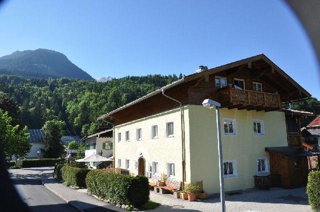 Haus Datz mit Blick auf den Kehlstein - Haus Datz Berchtesgaden