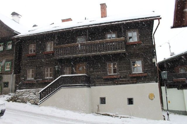 Ansicht Kirchengasse III - Kolping Ferienhaus Haus im Ennstal