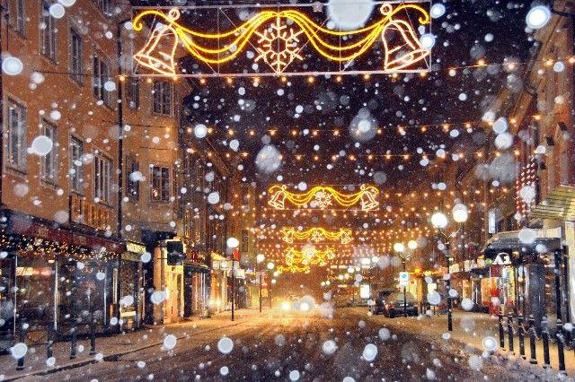 Weihnachtliche Stimmung am Spittaler Hauptplatz - Spittal a.D. Kaernten
