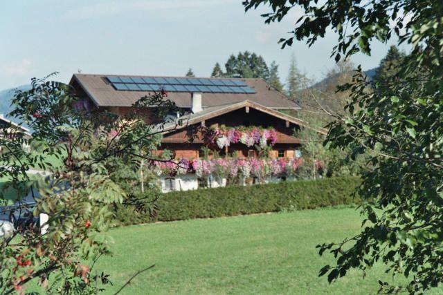 Blick auf Südseite vom Haus - Lechnerhof Achenkirch am Achensee