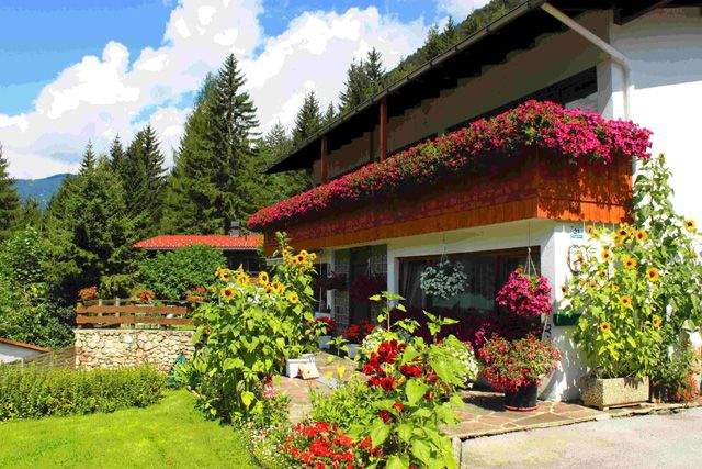 Garten - Haus Rzehak Maurach am Achensee