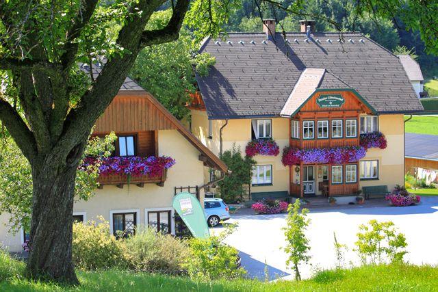 Pension Glitschnerhof in Aigen im Ennstal - Aussenansicht - Glitschnerhof Bergregion Grimming