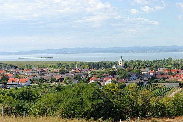 Der Blick vom Wagram zum See ist hier unvergleichlich! - Weiden/See Burgenland