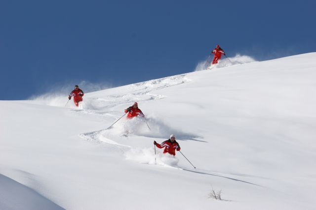 Perfekt ausgebildete Schilehrer - Außervillgraten Tirol