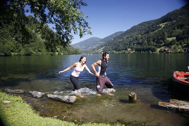 Afritzersee Kärnten Österreich Laufen Urlaub - Feld am See Kaernten