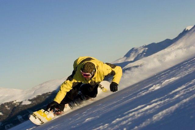 Snowboarden in den Nockbergen - Nockberge/Bad Kleinkirchheim Kaernten