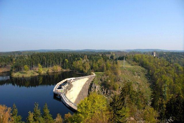 Fußwegebrücke am Kampsee Ottenstein - Rastenfeld Lower Austria