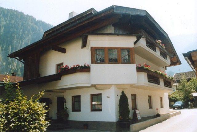 Außenaufnahme Ferienwohnungen FANKHAUSER - Ferienwohnungen Fankhauser Mayrhofen