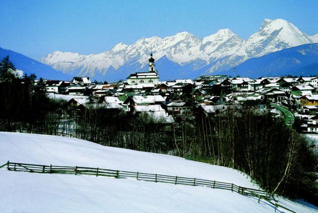 Ortsansicht Götzens - Goetzens Tirol