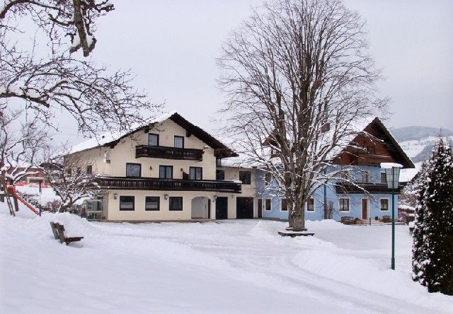 Winterbild Mondsee - Pension Herned Mondsee am Mondsee