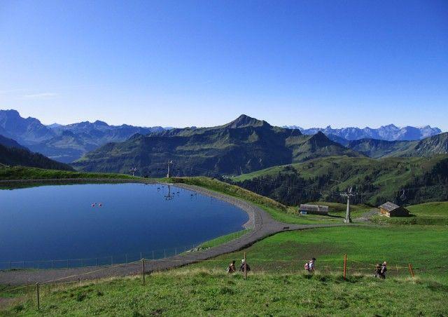 Am Uga-Alpsee oberhalb von Damüls - Damuels Vorarlberg