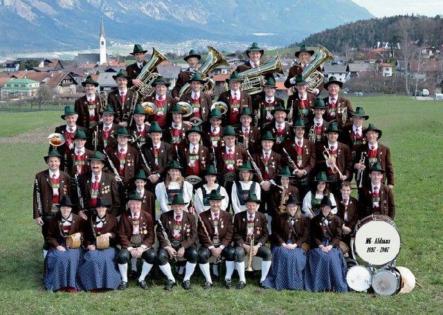Aldrans' brass band - culture in the village - Aldrans Tirol