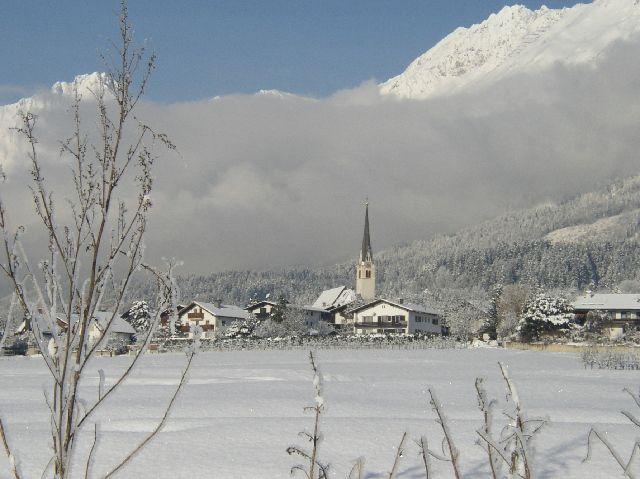 Die Marktgemeinde Rum ist auch im Winter einen Besuch wert. 5km von den Städten Innsbruck und Hall entfernt. Umfangreiches Sport und Kulturangebot. - Rum Tirol