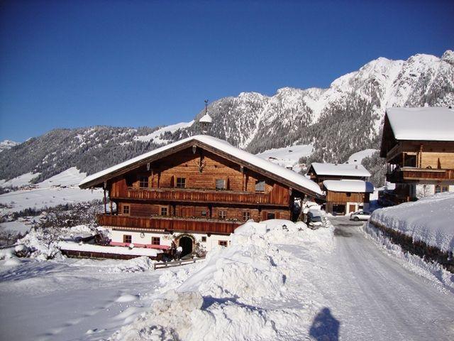 Unser Gasthaus im Sommer-herrlicher Ausblick... - Gasthaus Rossmoos Alpbach