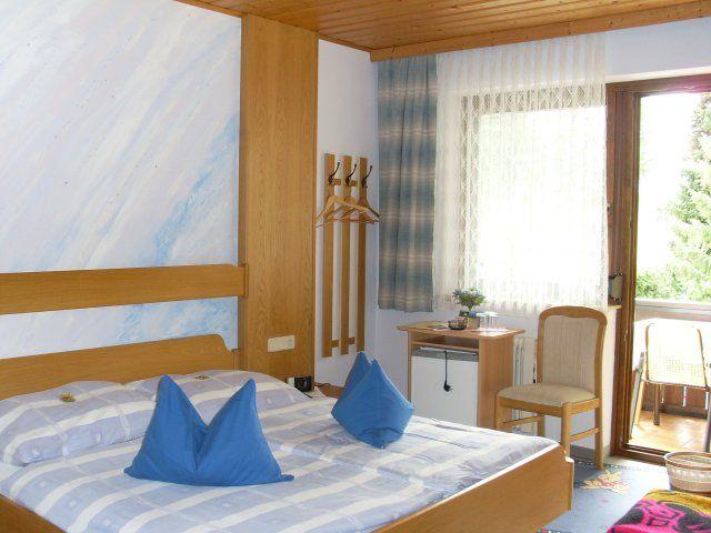 Doppelbettzimmer mit Balkon - Pension Muehlenheim Faaker See