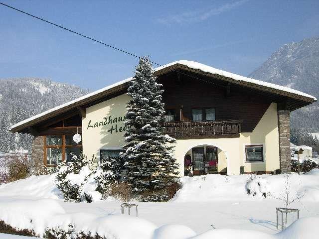 Landhaus Hedy im Winter - Landhaus Hedy Heiterwang