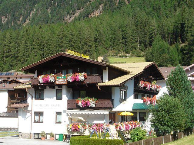 Sommerhausbild - Gaesteheim Prantl Soelden