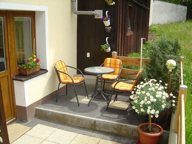 Terrasse mit Sitzgelegenheit - Apart Hoedl Pertisau am Achensee