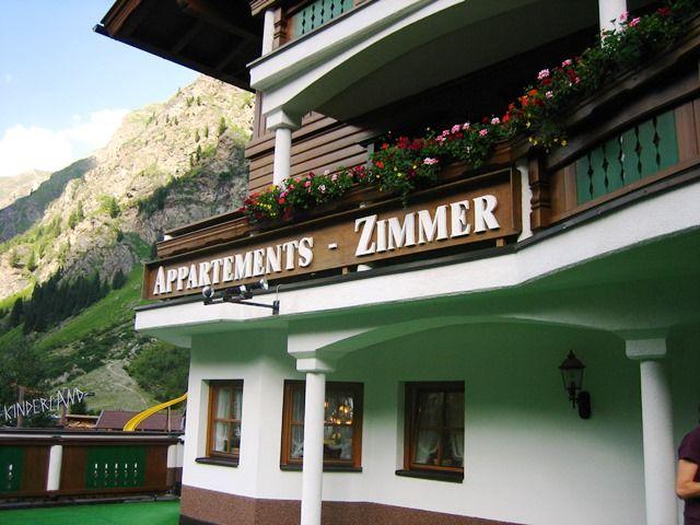 Sommer in der Pension Alpin - Alpin Pension St. Leonhard im Pitztal