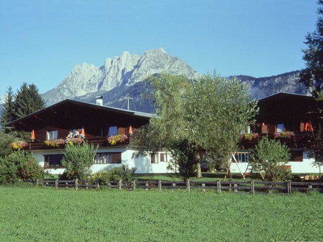 Landhaus Foidl im Sommer - Landhaus Foidl St. Johann in Tirol