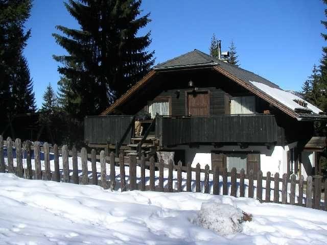 Rückseite des Hauses - Ferienhaus Wickenhauser Treffen am Ossiacher See