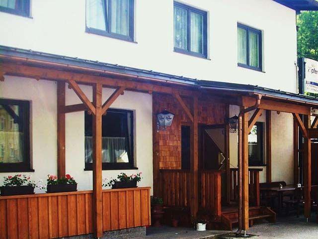 der Eingang zum Gasthof - Gasthof Roitner in Ebensee Ebensee