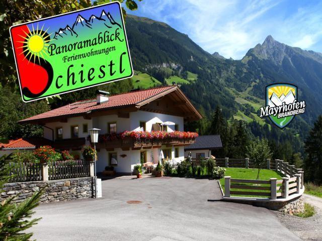 Panoramablick Ferienwohnungen Schiestl Mayrhofen
