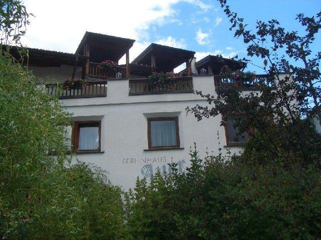 Winterfoto Ferienhaus Auer Aussenansicht - Apart Ferienhaus Auer Nauders