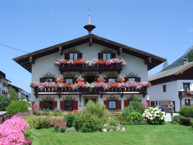 View during beautiful summer weather - Landhaus Mayer Achenkirch am Achensee