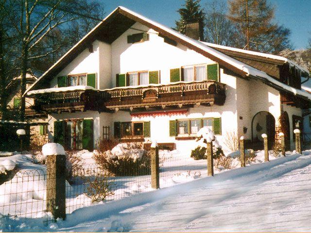 Winteraufnahme vom Landhaus Gaigg - Landhaus Gaigg Altmuenster