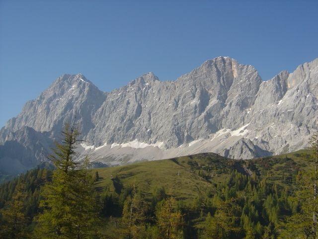 Tritscherhof - Das Dachsteinmassiv - Tritscherhof Ramsau am Dachstein