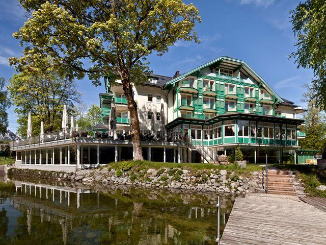 Die Seevilla im Sommer - Hotel Seevilla****S Altaussee