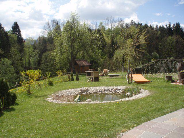 Garten mit unseren Kühen - Eisenstattgut Tanzberger Faistenau