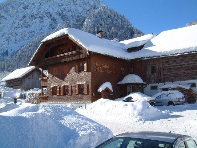 Haus Alpenrose Brand