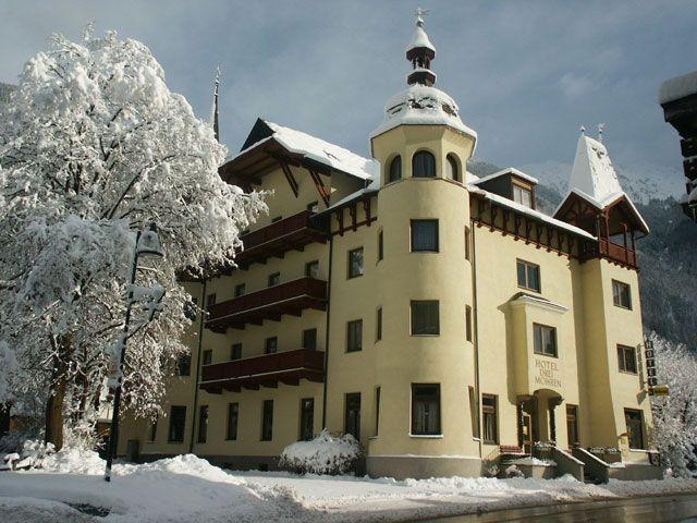 Hotel 3 Mohren im Winter - Hotel Drei Mohren Oetz