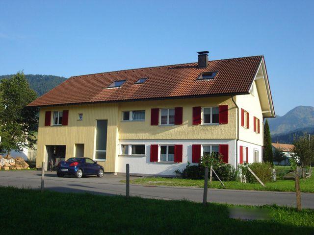 Unser Haus - Ferienwohnungen Familie Eberle Hittisau