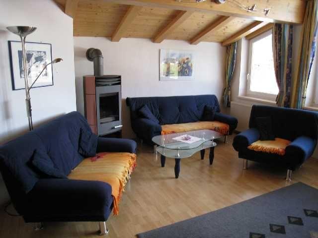 Wohnzimmer - Ferienhaus Rofanblick Maurach am Achensee