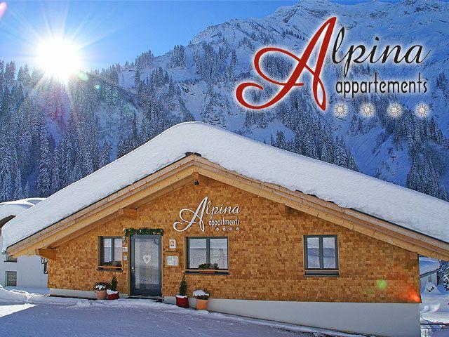 Herzlich Willkommen im Alpina! - Alpina Appartements Schroecken