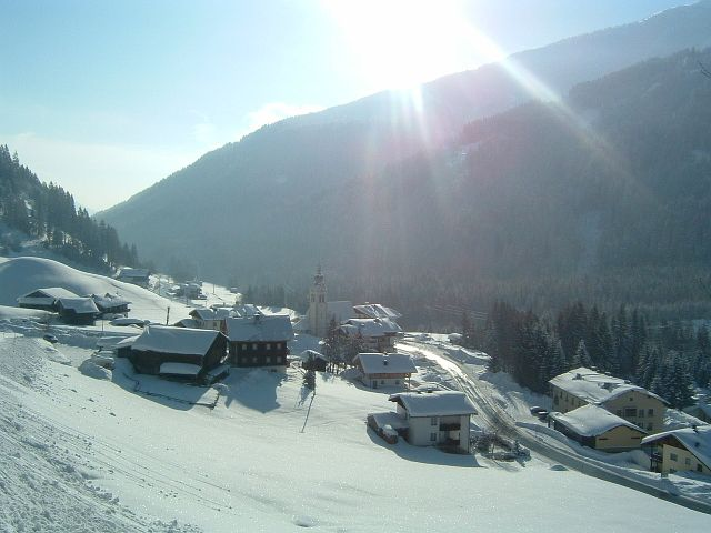 Untertilliach im Winter - Untertilliach Tirol
