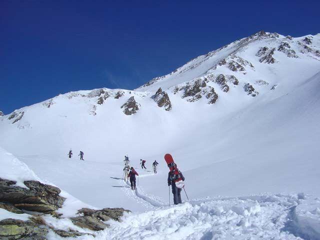 Mit Tourenschi und Snowbourd auf den Gipfel der Villgrater Berge - Innervillgraten Tirol