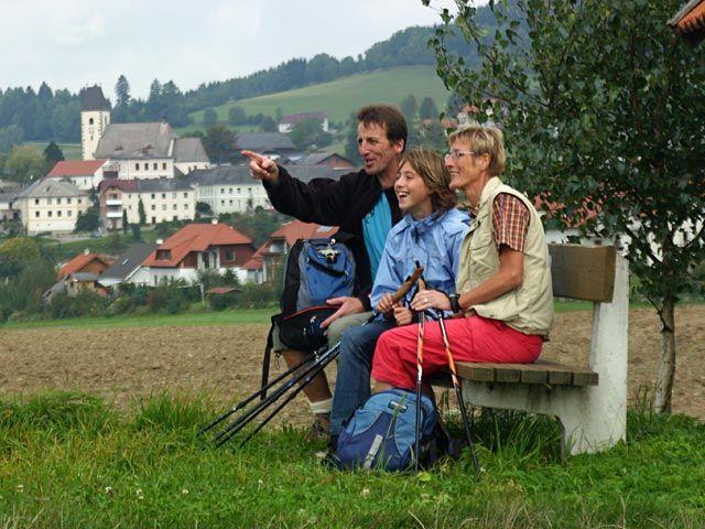 Herzlich Willkommen in Grünbach - sanfte Hügel prägen das Gebiet der 9-Dörfer-Gemeinde Grünbach - Gruenbach Oberoesterreich
