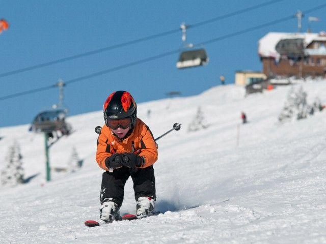 Auf der Gerlitzen Alpe erwarten Sie schneesichere Pisten - Ossiach Kaernten