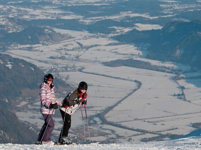 Österreich Kärnten Winterurlaub Region Ossiacher See Gerlitzen - Ossiach Kaernten