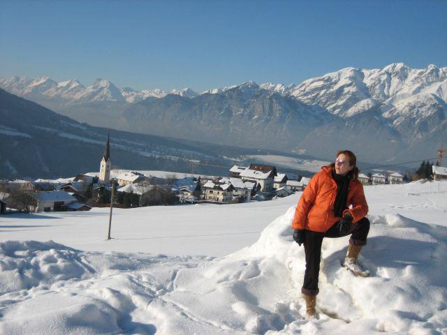 Erleben Sie einen Bilderbuch-Winter in Patsch (Foto App. Tiroler Alpenhof) - Patsch Tirol