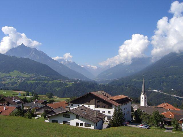 View from apartments Titoler Alpenhof. - Patsch Tirol